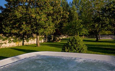 Spa Vue Vers Le Jardin