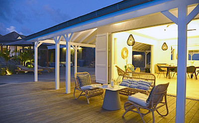 Vacation Rental St Barthelemy WV LAB Villa Villa St Barts Villa LABdek Desktop