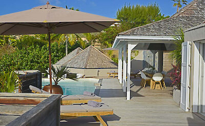 Vacation Rental St Barthelemy WV LAR Villa St Barts Villa LARdek Desktop
