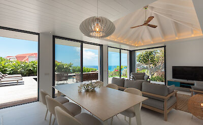 Vacation Rental St Barthelemy WV KNG Villa St Barts Villa KNGdin Desktop
