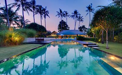 +Samadhana+ +Pool+at+dusk