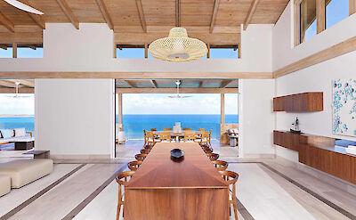 Oil Nut Bay British Virgin Islands E Dining Room View