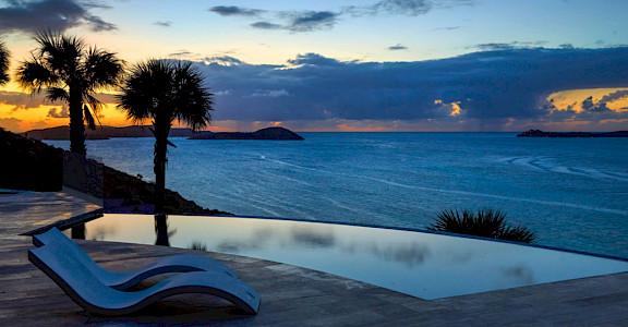 EL Pool At Sunset +% %
