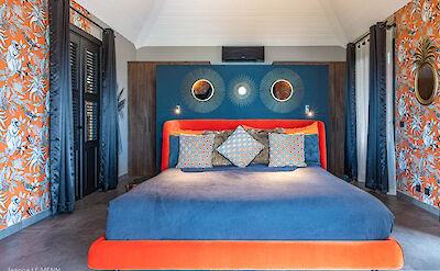 Eden Rock Villa Rental Orange Bedroom Jeanne Le Menn