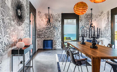 Eden Rock Villa Rental Dining Room Jeanne Le Menn