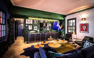 Eden Rock Villa Rental Living Room