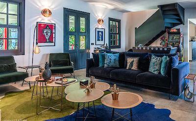 Eden Rock Villa Rental Living Room Jeanne Le Menn