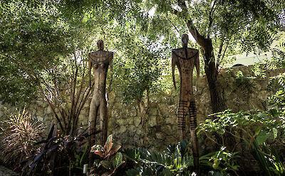 Eden Rock Villa Rental Garden