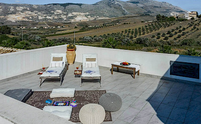 Roof Terrace Mountain Views