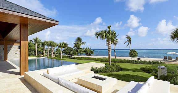 Oil Nut Bay British Virgin Islands Beach Villa 7 Pool Area
