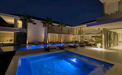 Pool Nightime