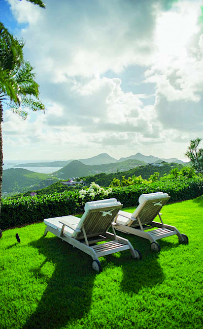 Eden Rock Villa Rental Villa View