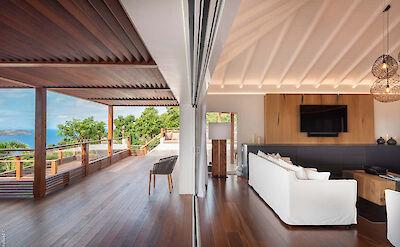 Eden Rock Villa Rental Villa Living Room
