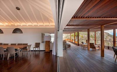 Eden Rock Villa Rental Villa Dining Room