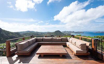 Eden Rock Villa Rental Villa Outside Living Area