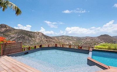 Eden Rock Villa Rental Villa Pool 2