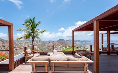 Eden Rock Villa Rental Villa Terrace Plus View