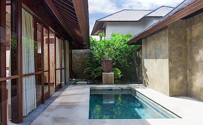 Villa Master Suite Two Plunge Pool