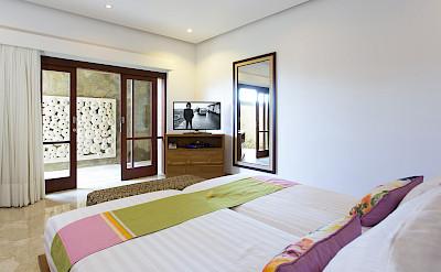 Villa Downstairs Back Bedroom