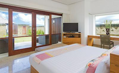 Villa Downstairs Front Bedroom