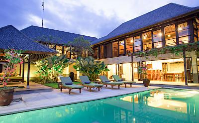 Villa Poolside View