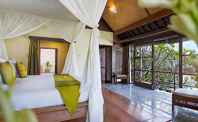 Villa Bedroom Two Outlook